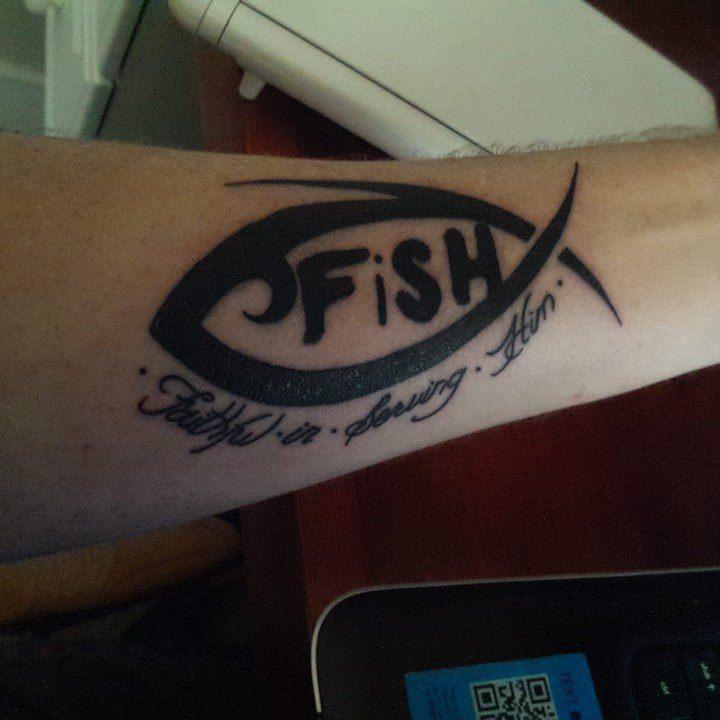 F.I.S.H. tattoo