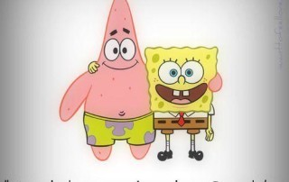 patrick and spongebob