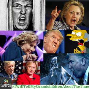 Hashtag game trump