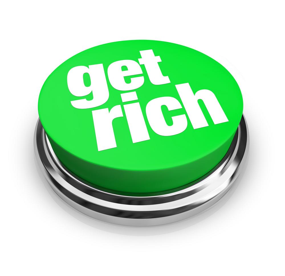 get rich button
