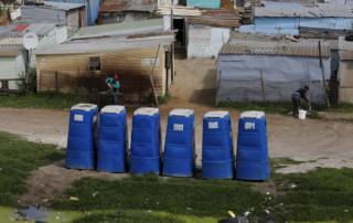 outside toilet township