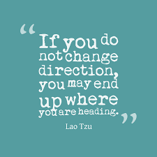 change direction quote