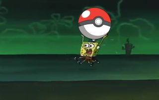 Spongebob Pokemon GO
