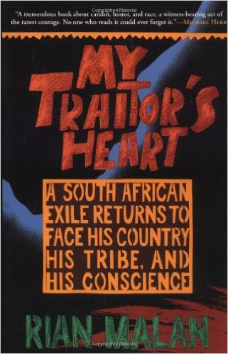 My Traitor's Heart book cover