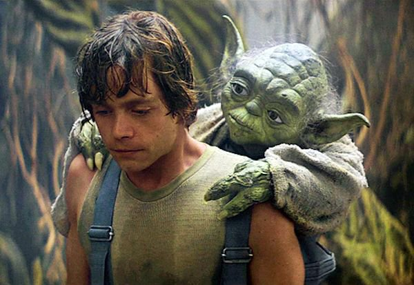 Yoda mentor Luke