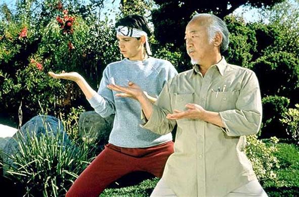 Mr Miyagi mentor daniel