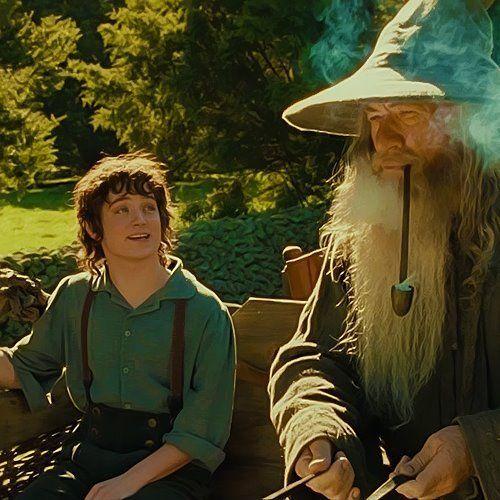 Gandalf mentor Frodo