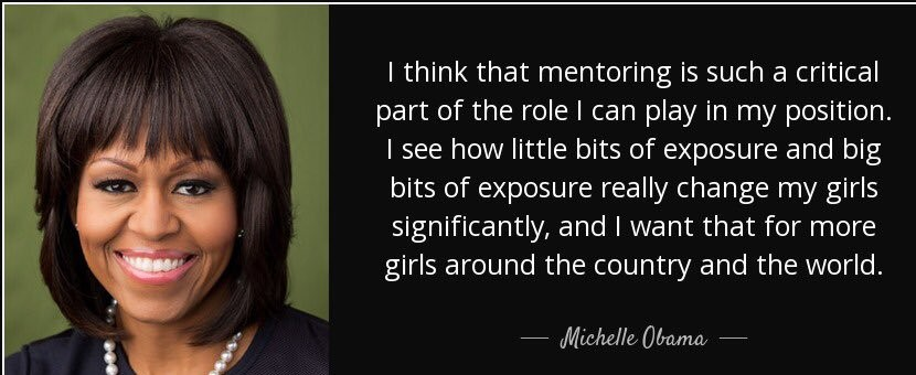 Michelle Obama mentor quote