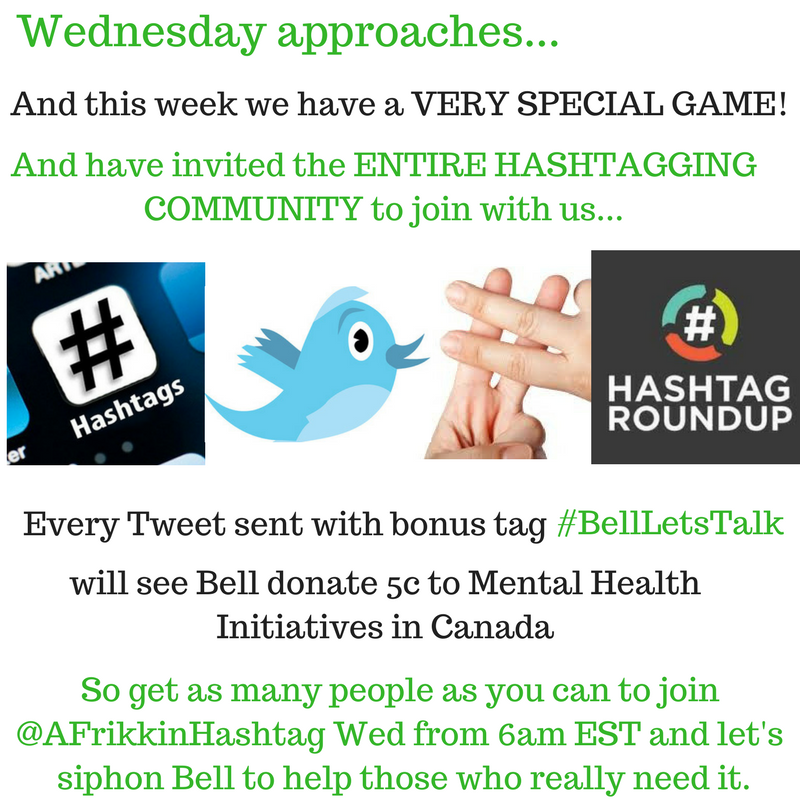 Hashtag Game ad