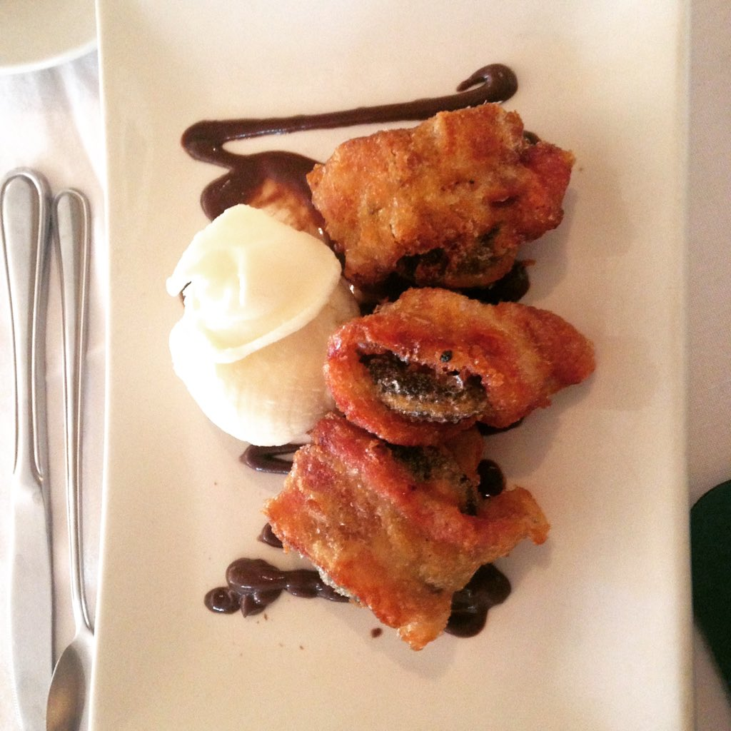 Beer-soaked bacon-covered deep fried Oreos
