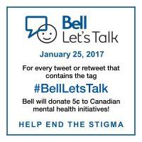 #BellLetsTalk
