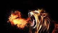 roaring prophetic lion