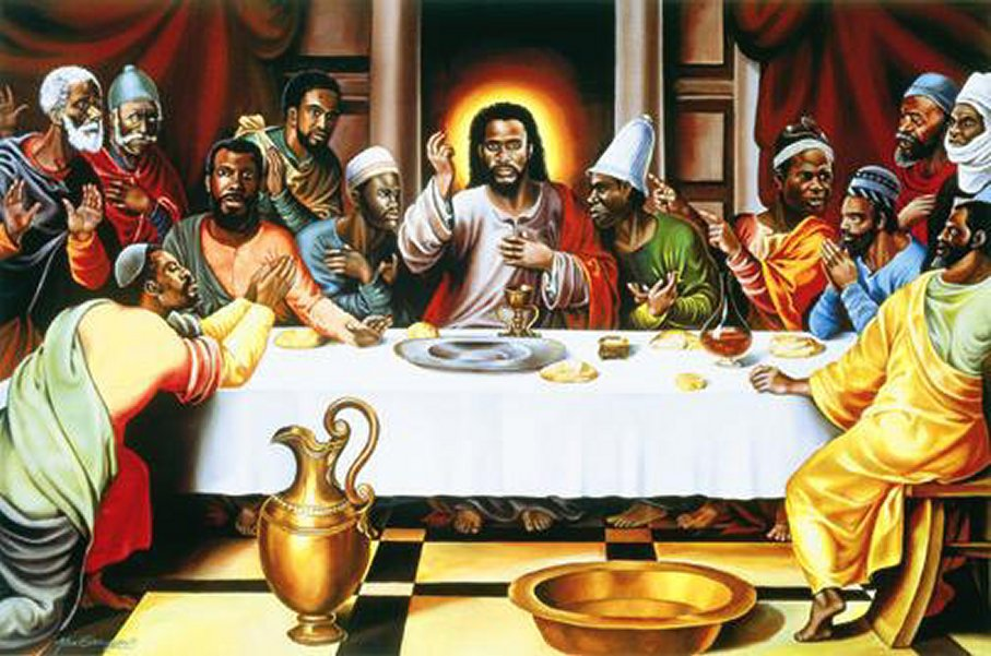 Black Jesus Last Supper race