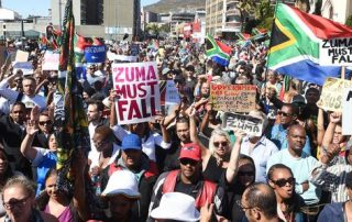 #AntiZumaMarch march