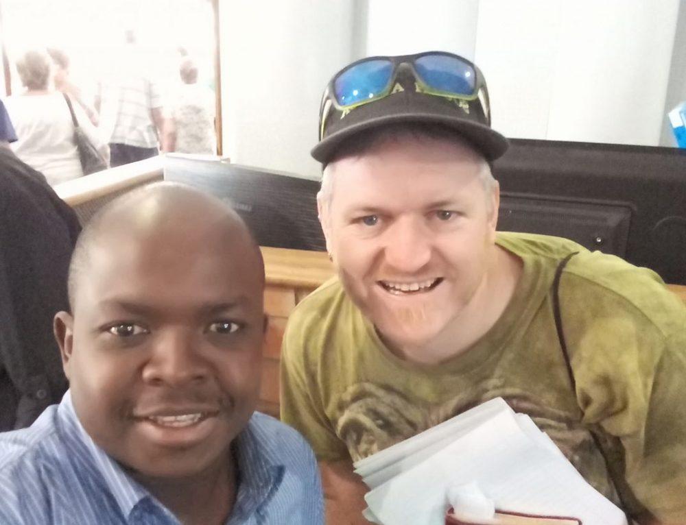 i found Jesus [He was in Durban!]