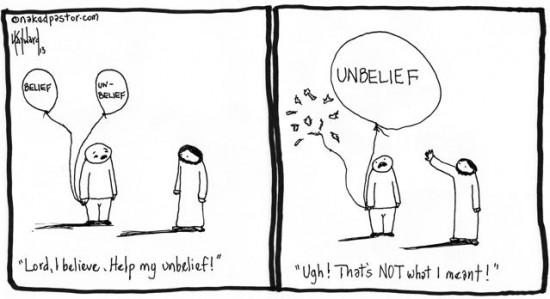 i believe help my unbelief