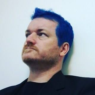 blue hair brett fish