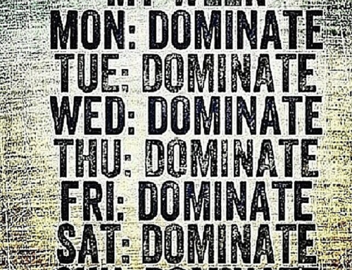 Dominate this week in 3 easy steps.
