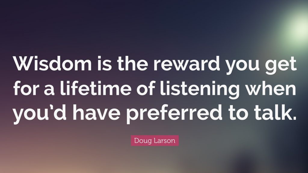 Listen quote