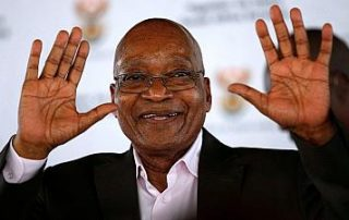 Jacob Zuma no confidence