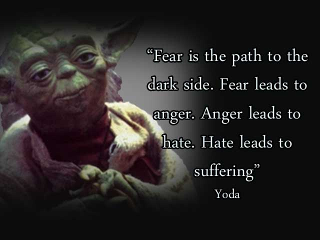 Yoda quote anger