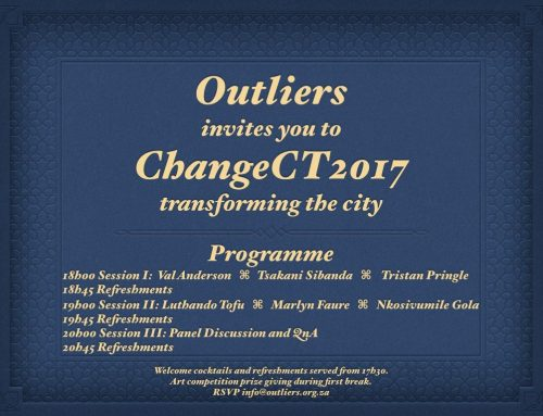 Change Cape Town: Outliers event 2017