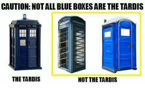Tardis not all men