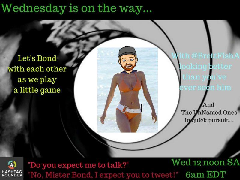 Bond 25 Hashtag game
