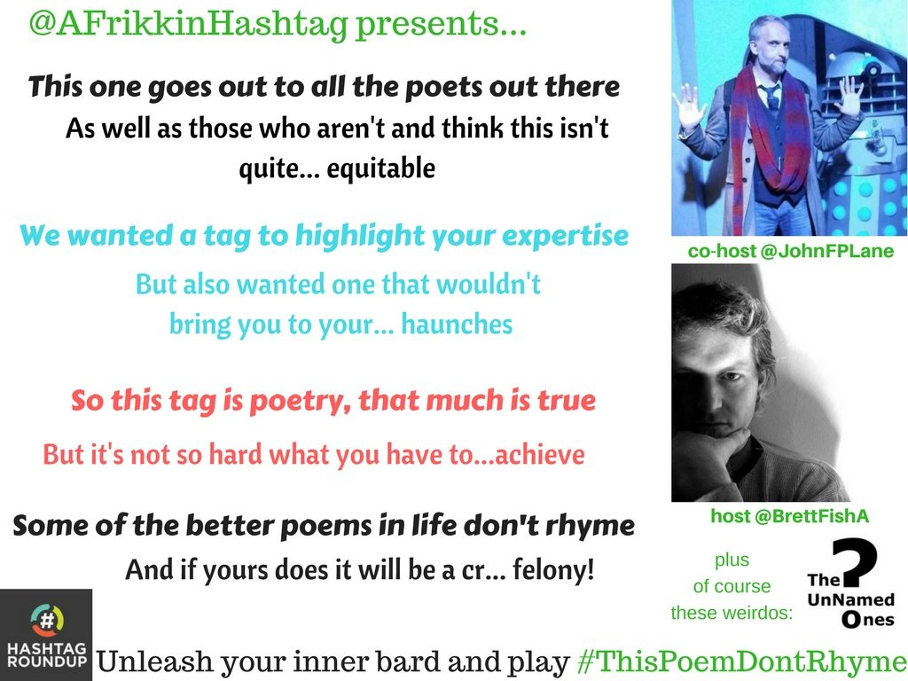 hashtag game poem don't rhyme