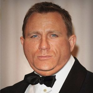 Daniel Craig Bond chubby