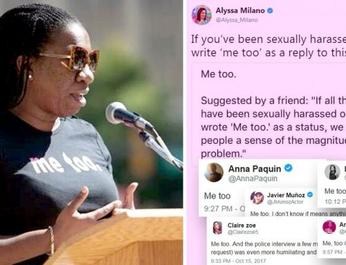Why #MeToo can not be last week's news
