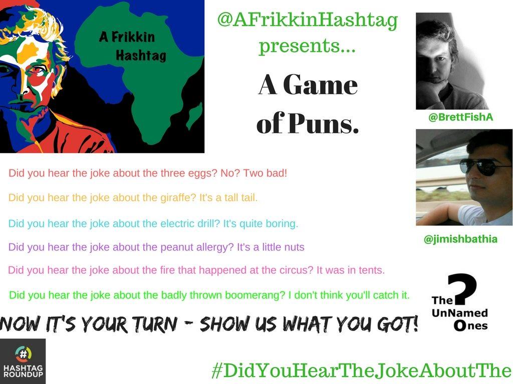 hashtag game joke