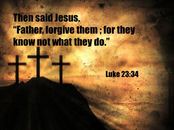 Forgiveness Jesus