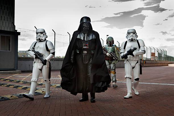 Day Zero Cape Town Darth Vader