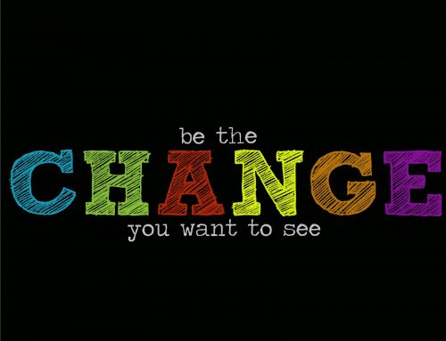 Give the change you want to see…
