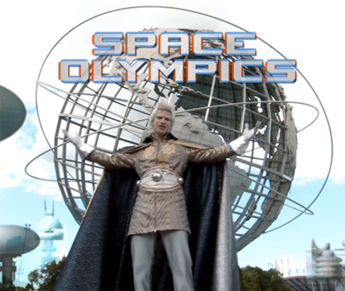 Space Olympics hashtag game