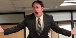 defensive Dwight Office