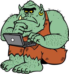 social media troll