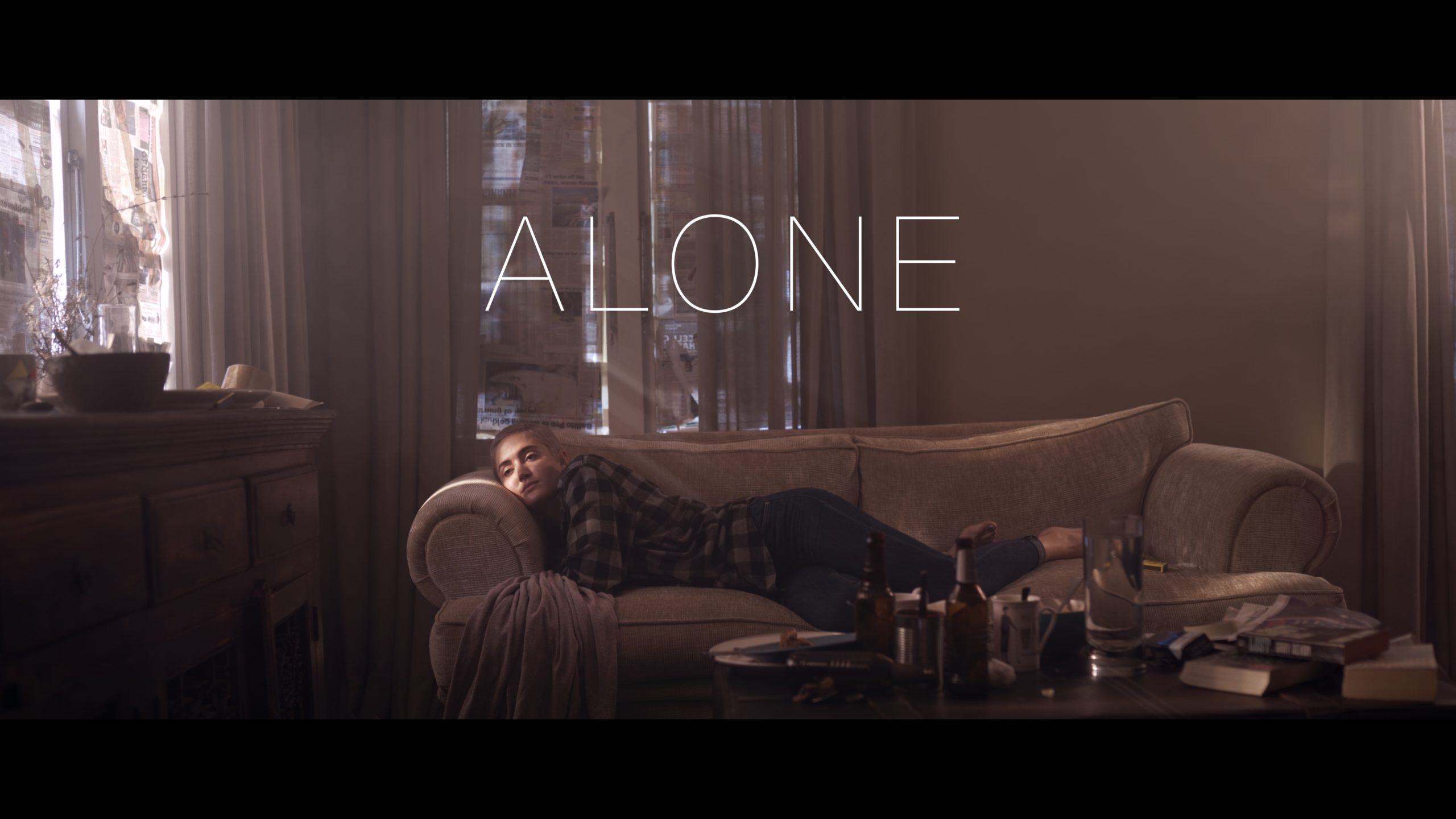 Alone movie cover page