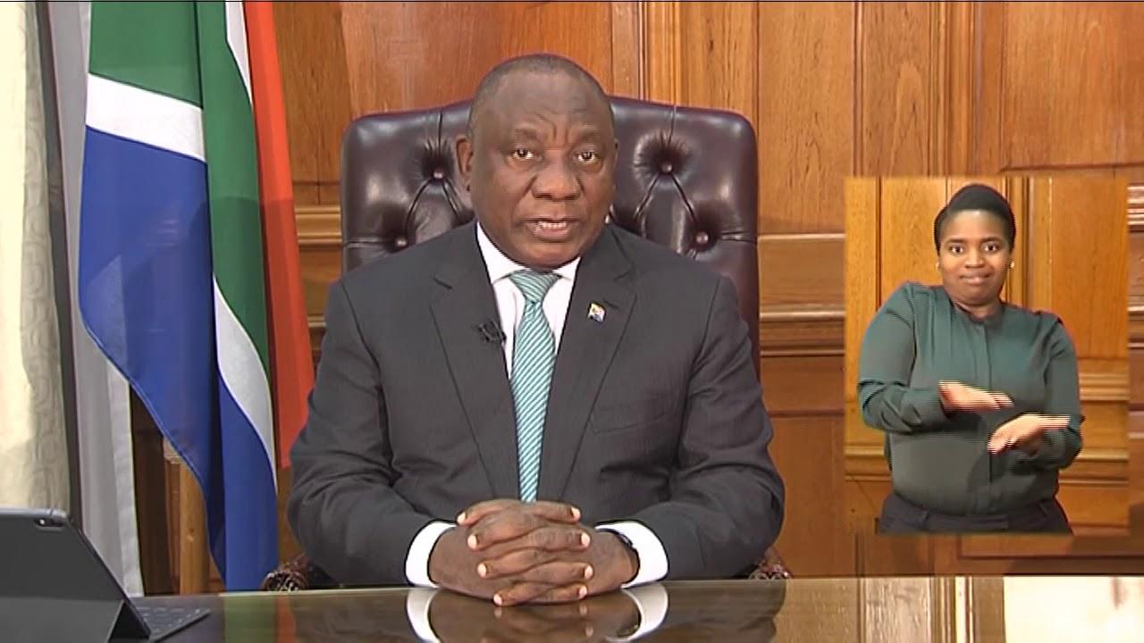 President Ramaphosa language