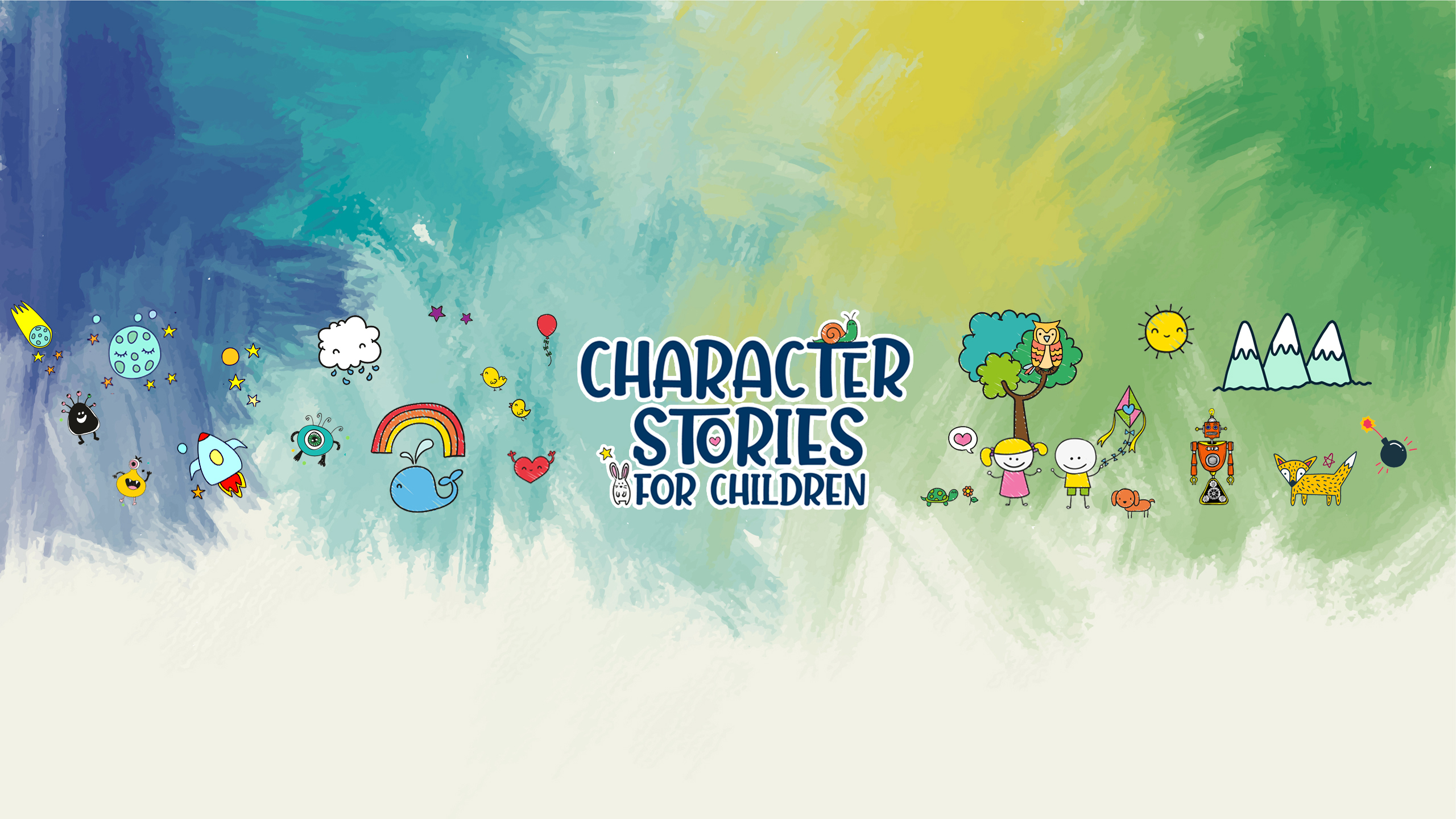 Character Stories banner