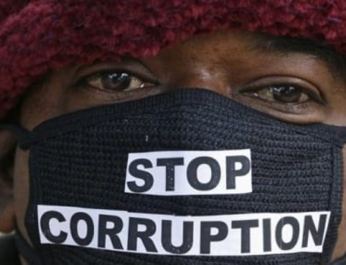 While waiting on the government [corruption]…