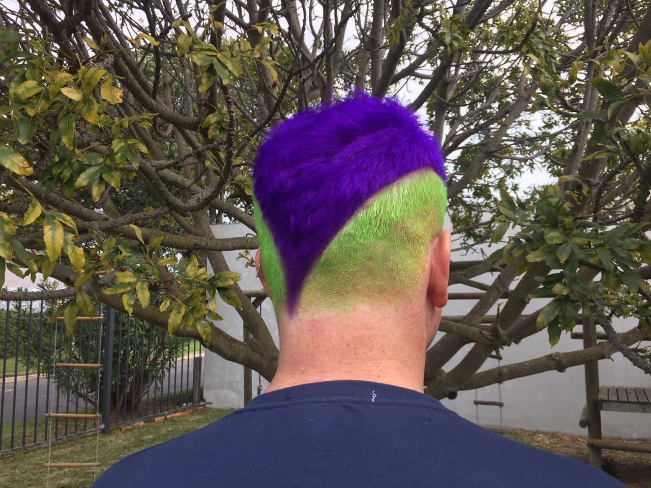 Antifa hair apparently
