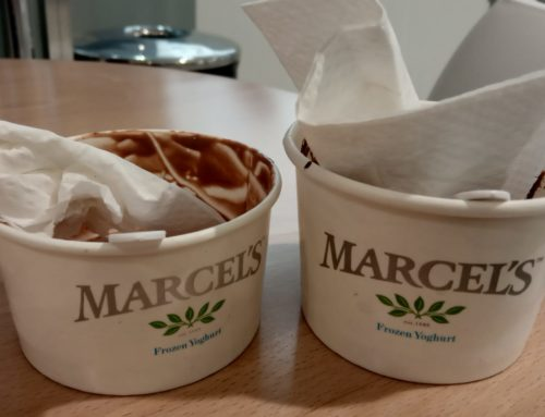 Marcel's is smashing it out of the park with peppermint!