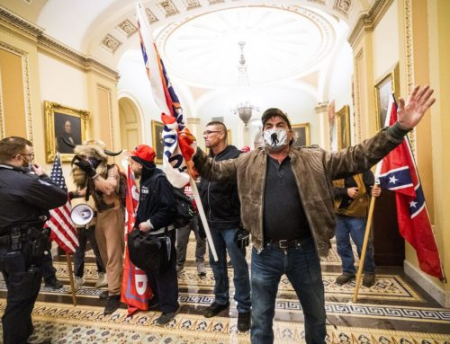 Storming the Capitol: a story in tweets